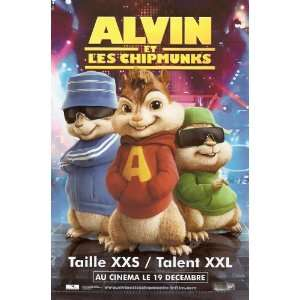 Alvin and the Chipmunks Movie Poster (27 x 40 Inches   69cm x 102cm