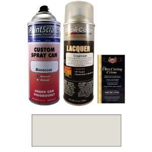 Oz. Ice Silver Metallic Spray Can Paint Kit for 2012 Audi A4 (LX7W/P5
