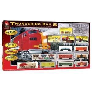 Trains HO Scale Thundering Rails Electric Train Set: Toys & Games