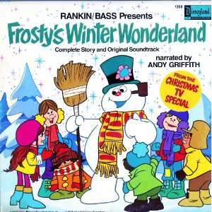 Audio CD Frostys Winter Wonderland. Rankin/Bass. Narrated