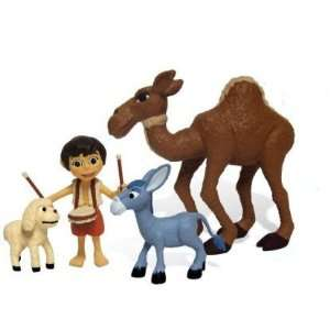 PVC Figure Set Aaaron and Animal Friends, Rankin/Bass: Toys & Games