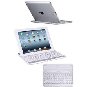 Ultra Lightweight Wireless Bluetooth Keyboard Case Cover for iPad 2