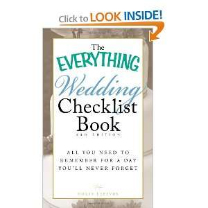 The Everything Wedding Checklist Book All you need to
