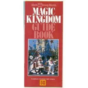 1987 walt Disney WOrld Magic Kingdom Guide Book brochure
