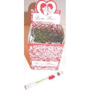 1800 Love Rose Flower in Glass Tube 50 X 36 Tubes