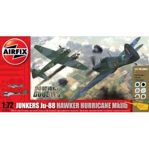 Airfix A50038 1:72 Scale Dogfight Double   Junkers Ju 88