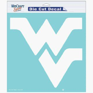 West Virginia Mountaineers 8 X 8 Die Cut Decal Sports