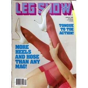 LEG SHOW JANUARY 1987: LEG SHOW MAGAZINE: Books
