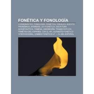 : Fonética y fonología: Consonantes, Fonología, Fonética, Vocales
