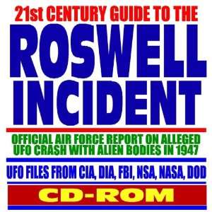 UFO Files from CIA, DIA, FBI, NSA, NASA, DOD (CD ROM) (9781422004623