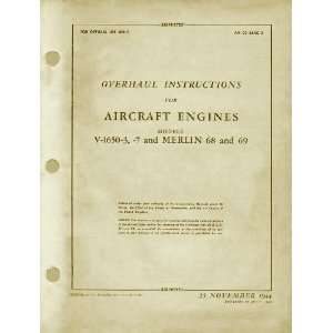 1650  3  7 Aircraft Engine Overhaul Manual Rolls Royce Books