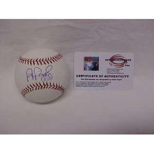 Albert Pujols Autographed St Louis Cardinals Official Major League