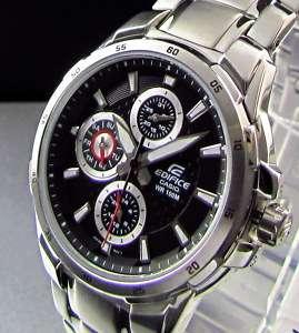 Casio EF 337D 1A Chrono Vettel F1 Red Bull Racing Watch