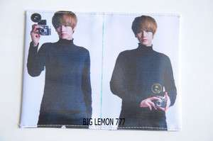 Kyuhyun ~ SUPER JUNIOR MR.SIMPLE Korean Band Passport Holder Cover C1