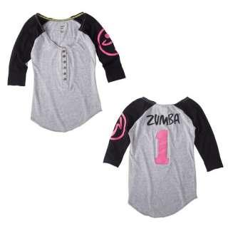 Zumba Zweet Baseball Tee Zumbawear Dance