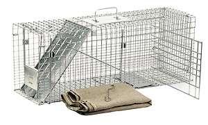 Havahart Model 1099 Cage Trap, Stray Cat Rescue Kit