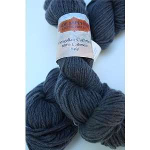 Mongolian Cashmere 6 Ply Yarn 49 Pewter Arts, Crafts & Sewing