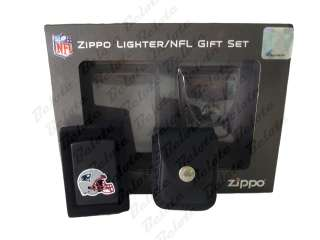 Zippo NFL New England Patriots Lighter & Pouch 24662