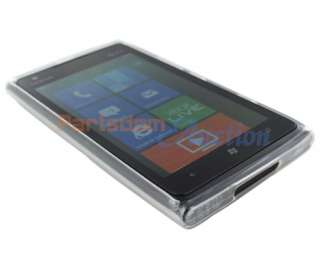 For Nokia Lumia 900 Clear New TPU Gel Silicone Rubber Soft Skin Case