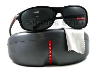 NEW Prada Sunglasses SPS 05M BLACK 1AB 1A1 SPS05M AUTH