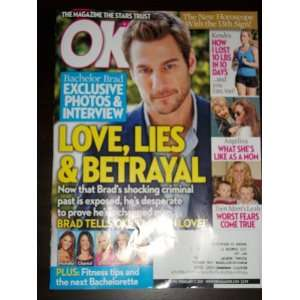 OK #6 February 7, 2011 Bachelor Brad Kendra Angelina Teen Mom: Books
