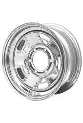 15x6 A Style Chrome Steel Trailer Wheel