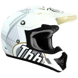 THH TX 12 TX12 #6 MX ENDURO OFF ROAD MOTO X ACU GOLD DIRT BIKE