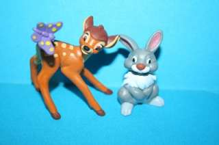 Disney Bully pvc figures Bambi & Thumper mint new