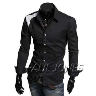 PJ New Arrival Mens Shirt UK Style Menswear Button front dress