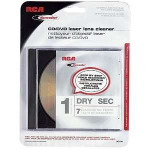 New   Audiovox CD/DVD Laser Lens Cleaner   T53110