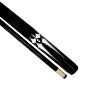 Iszy Billiards 58 Inch 2 Piece Fibreglass Pool Cue Billiard Stick