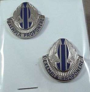 US Army Unit Crest 11th Aviation Battalion / 22   M / Pair