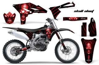 YAMAHA YZ250F 2010 2011 2012 GRAPHICS KIT DECALS SCRB