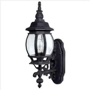 Capital Lighting   9867BK   French Country One Light Outdoor Wall