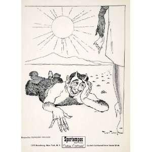 1955 Lithograph Stuyvesant Van Veen Modern Art Centaur Mythical Beast