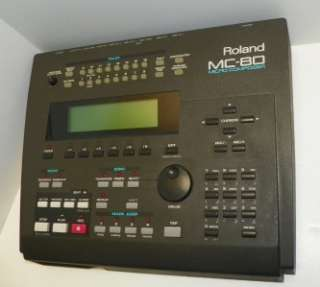MC 80 Micro Composer 16 Track Midi Sequencer Multi Track Recorder MC80