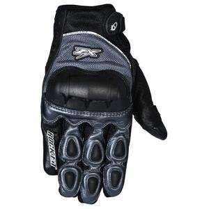 Joe Rocket Kawasaki ZX Gloves   X Large/Gunmetal/Black