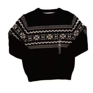 Boy Xs 7 8 Years, Black White, Winter Sweater Outerwear