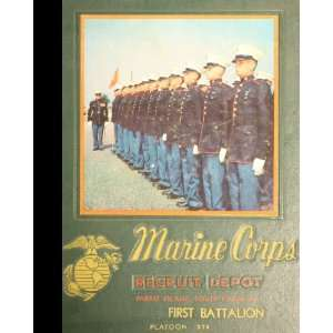 Beaufort, South Carolina US Marine Corps Basic Training School 1964
