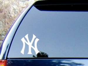 NEW YORK NY YANKEES CAR TRUCK VINYL DECAL STICKER LARGE