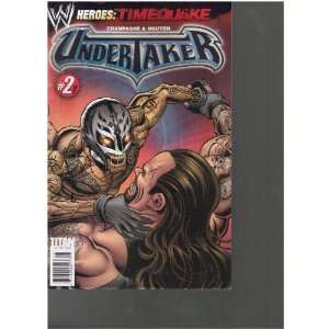WWE Heroes Comic (Undertaker, January 2011): Books