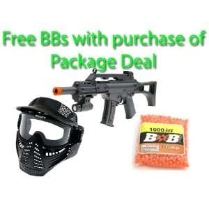Spring Mini G36A Assault Rifle FPS 120 Airsoft Gun Package