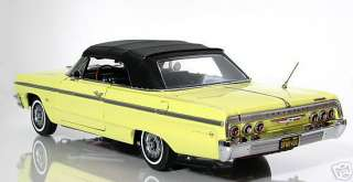 1964 Chevy Impala Convertible Goldwood w/black Int.