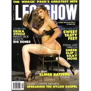 Leg Show Magazine October 2003 Erika Steele, All New Elmer