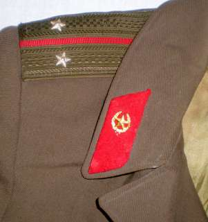 Russian Soviet Military Army Officer Uniform Cloak Cape Boy Coat USSR