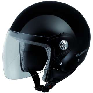 MIDWAY OPEN FACE VISOR DEMI JET MOTORCYCLE SCOOTER CRASH HELMET