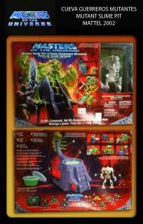 collection of Masters of the Universe form the Brand Mattel year 2002