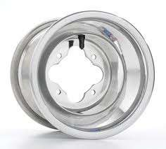 DWT Alumilite A5 Rolled Lip ATV Rear Wheel 8 8x8 3+5 4/110 Suzuki