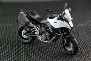 12 KTM 990 SMT Diecast Model Motorcycle Street Bike W