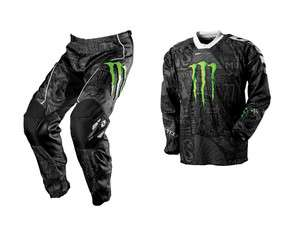 2012 ONE INDUSTRIES CARBON MONSTER MOTOCROSS COMBO KIT (JERSEY + PANTS